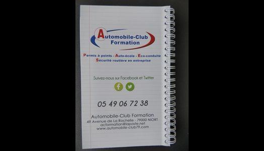 Dos Code de la route ACF