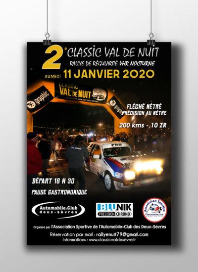 Affiche Rallye Val de Nuit - Alice Belain