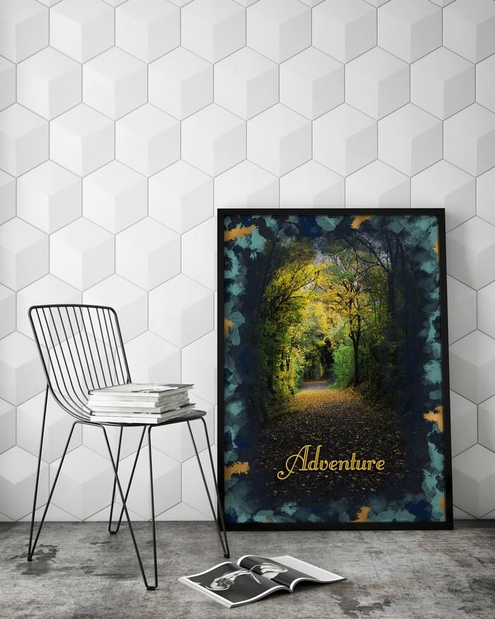 Poster Adventure - Alice Belain Deco Etsy