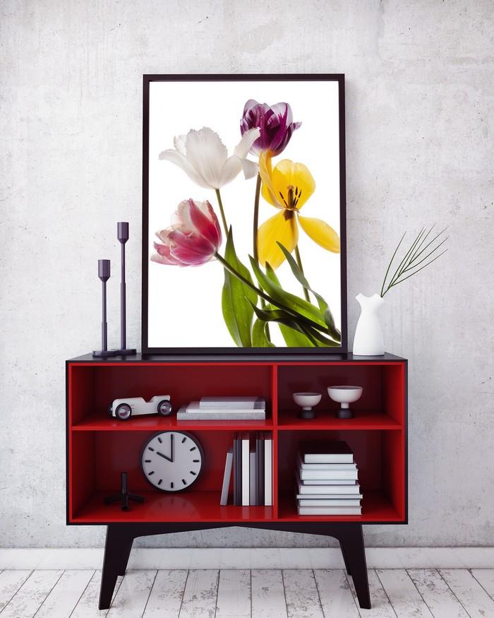 Poster Tulipes - Alice Belain