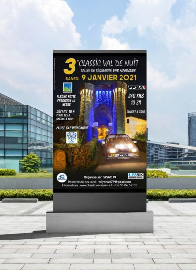 Affiche Rallye Classic Val de Nuit 2021